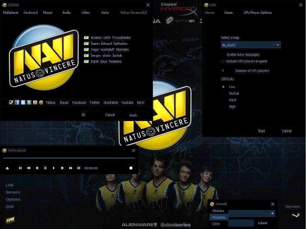 دانلود بازی Counter Strike 1.6 | Navi برای Pc