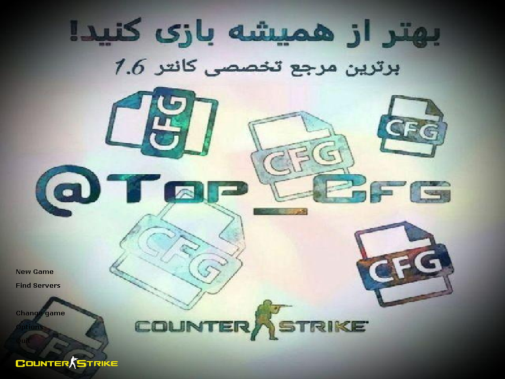 دانلود بازی Counter Strike 1.6 | TOP CFG Version برای PC