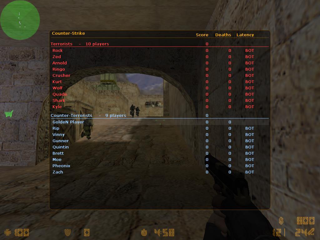 دانلود بازی Counter Strike Gold Edition