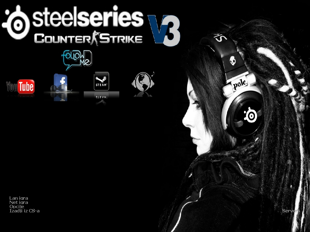 دانلود بازی Counter Strike 1.6 | Steelseries By pole v3 Version