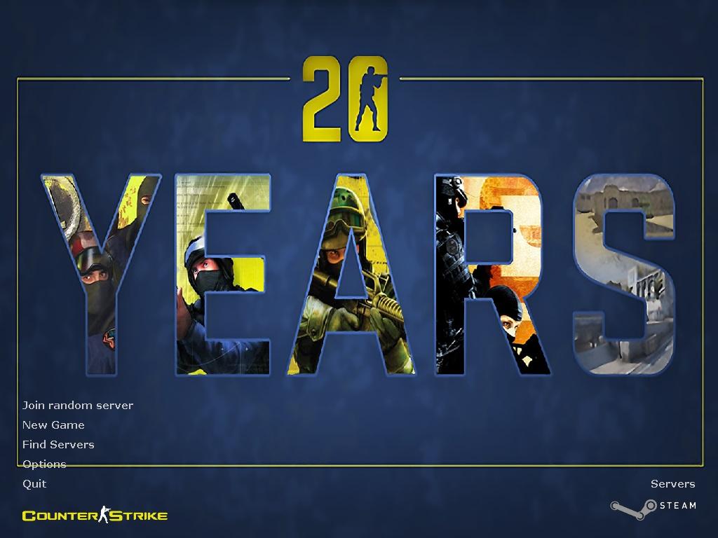 دانلود بازی Counter Strike 1.6 | 20 Years برای Pc
