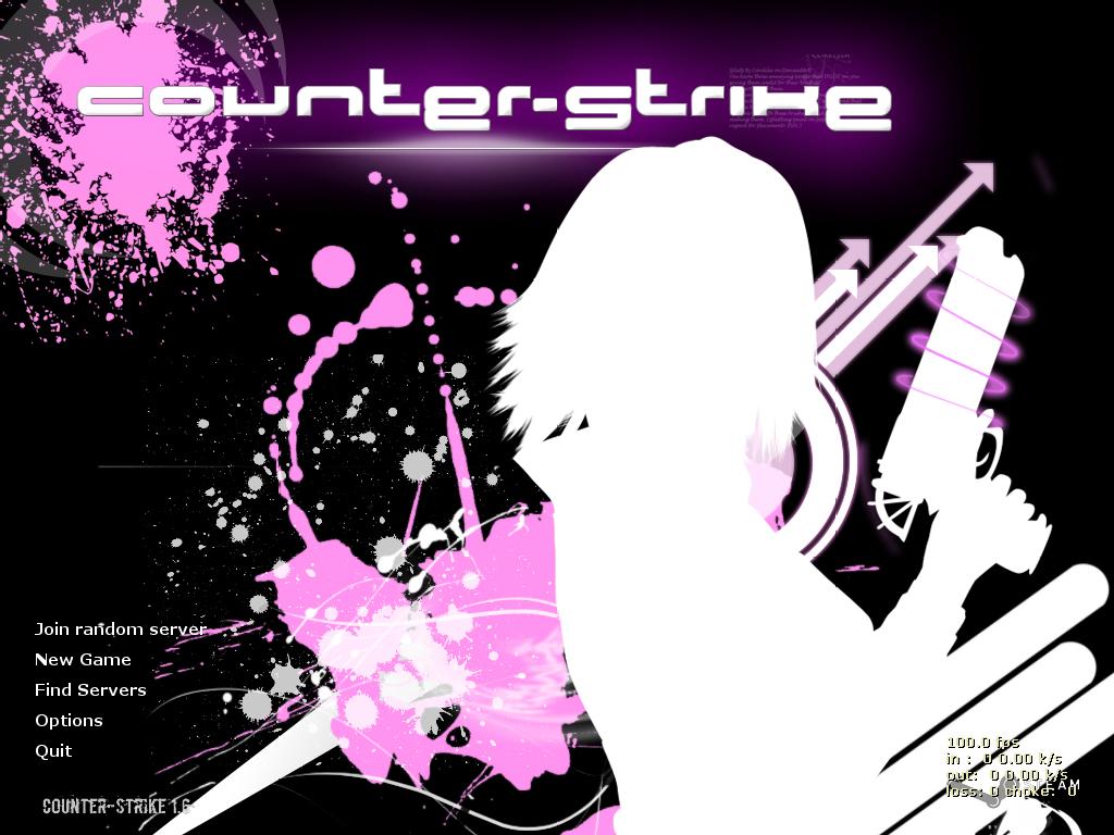 دانلود بازی Counter Strike 1.6 | for girls برای PC