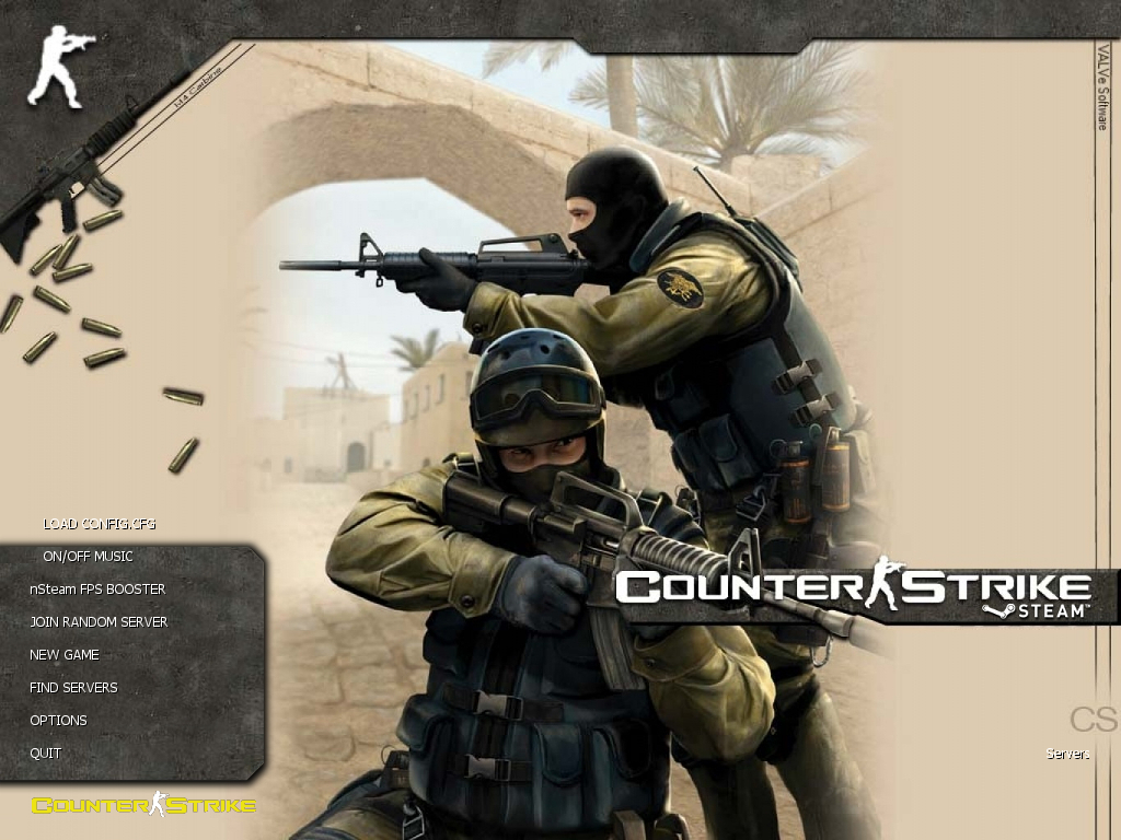 دانلود بازی Counter Strike 1.6 | Nvidia Steam برای PC