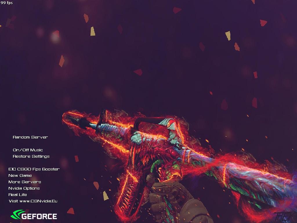 دانلود بازی Counter Strike 1.6 | Nvidia V9 برای PC