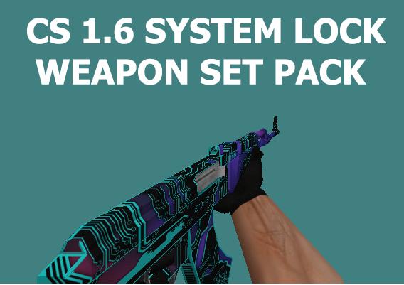 دانلود پک اسکین های System-Lock برای سی اس 1.6