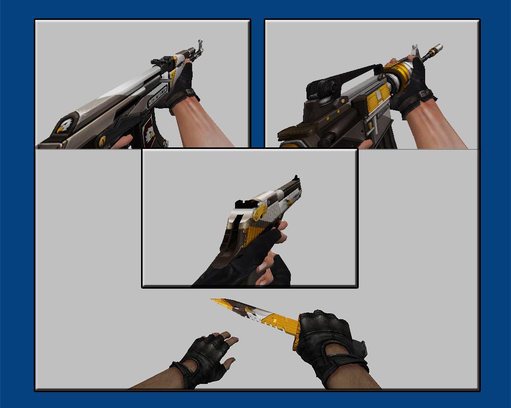 دانلود پک اسکین حرفه ای طرح عقاب EaglePaint سی اس 1.6