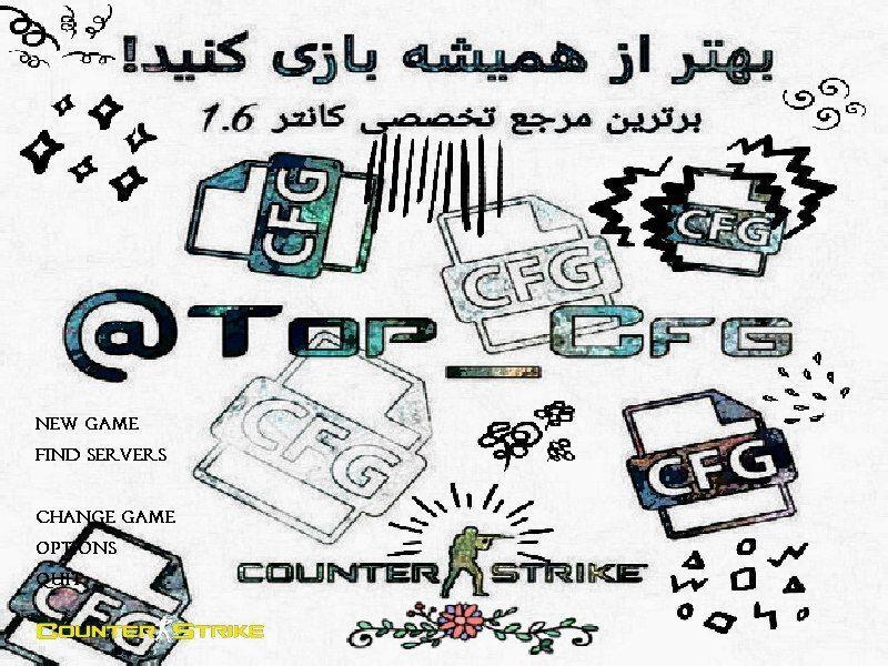 دانلود بازی Counter Strike 1.6 | tOp CFG V2 برای PC