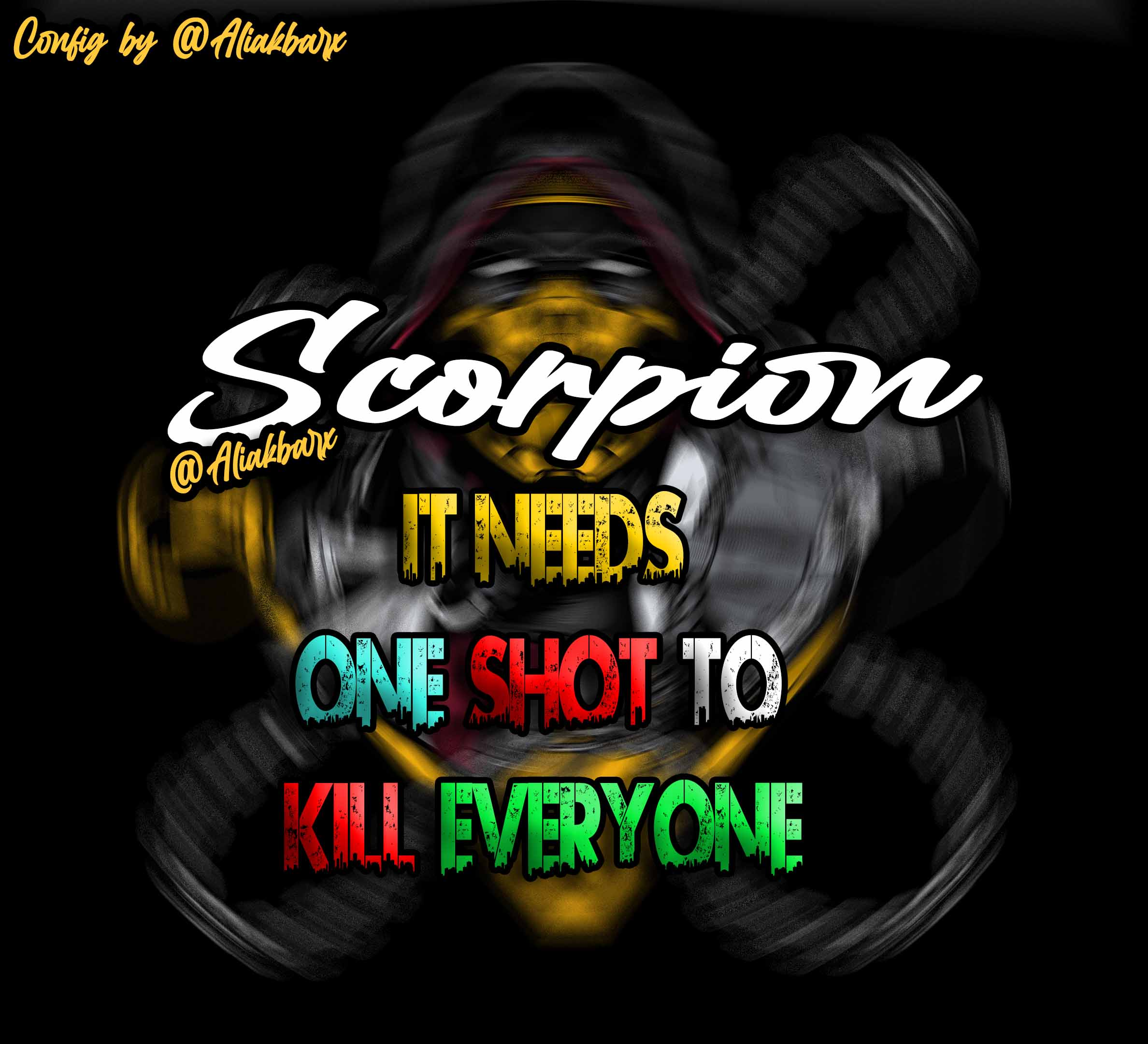 دانلود کانفیگ فول ایم Scorpion  - ( رایگان ! )