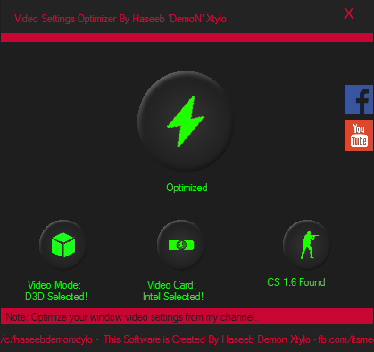 download cs 1.6 video setting optimizer