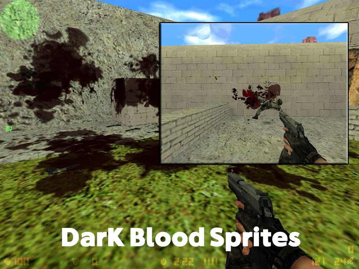 دانلود اسپرایت خون Dark Blood - کانتر 1.6