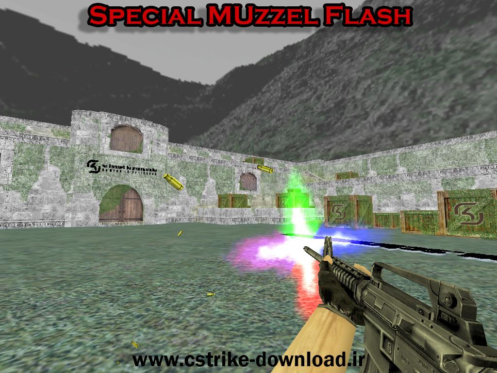 دانلود اسپرایت special muzzel flash برای کانتر 1.6