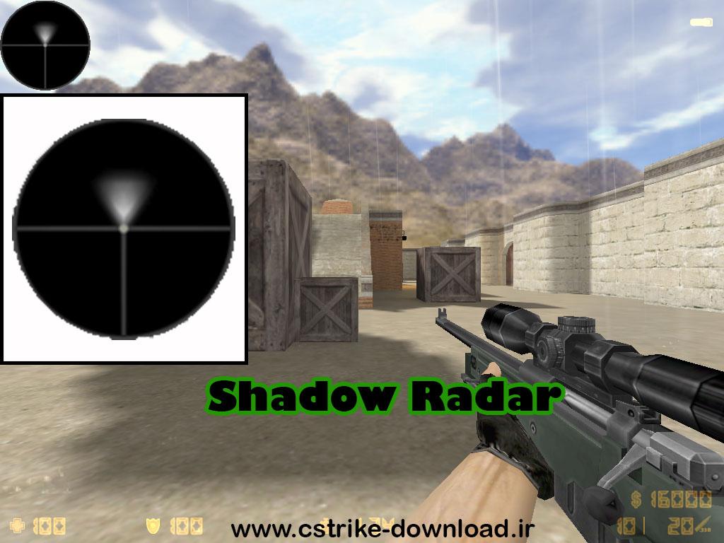 دانلود اسپرایت رادار shadow برای کانتر 1.6